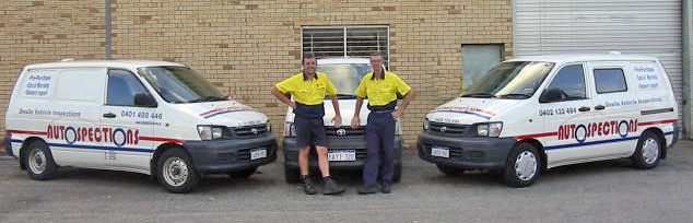 Nick & Todd - The team from Autospections Onsite Vehicle Inspections